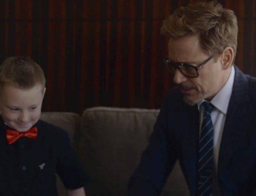 Robert Downey Jr. Presents Boy with New Prosthetic Arm