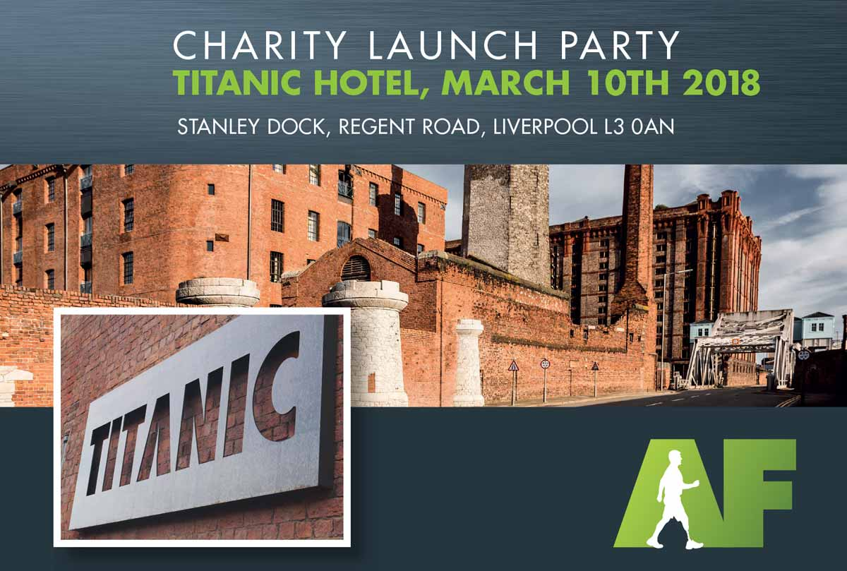 Amputation Foundation - Charity Launch Event - Titanic Hotel - 10th March 2018