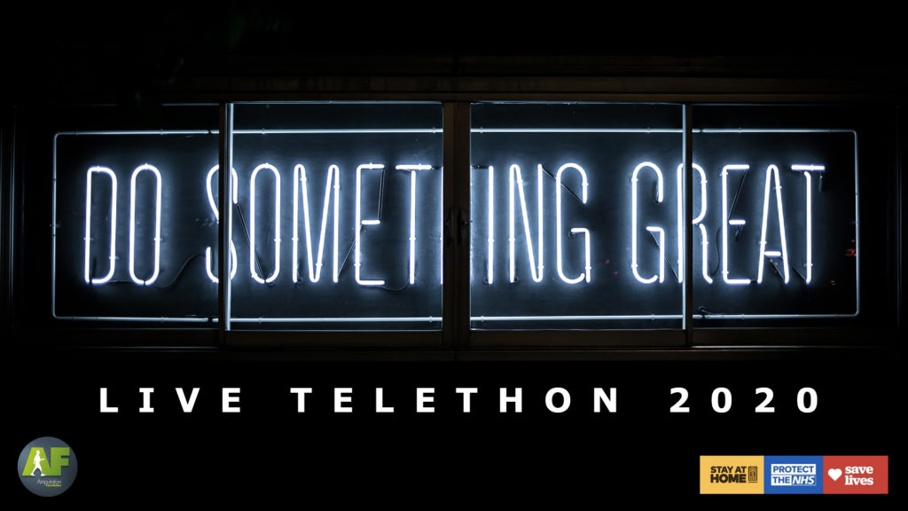 AF #LiveLockdownTelethon 2020 #DoSomethingGreat